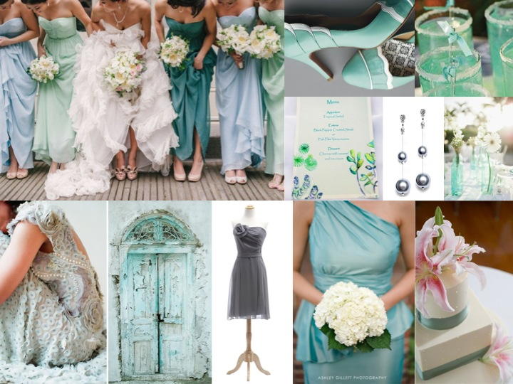 Sea glass or beach glass wedding on pinterest sea glass for Ocean themed wedding dress