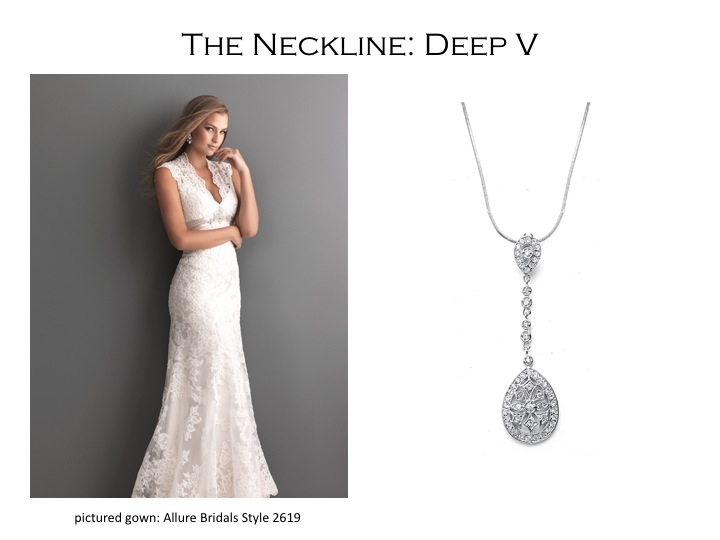 Pick the Right Necklace for Your Wedding Dress Mariell Bridal