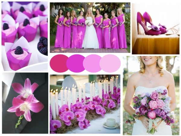 Radiant Orchid Wedding Inspiration // #Pantone #coloroftheyear