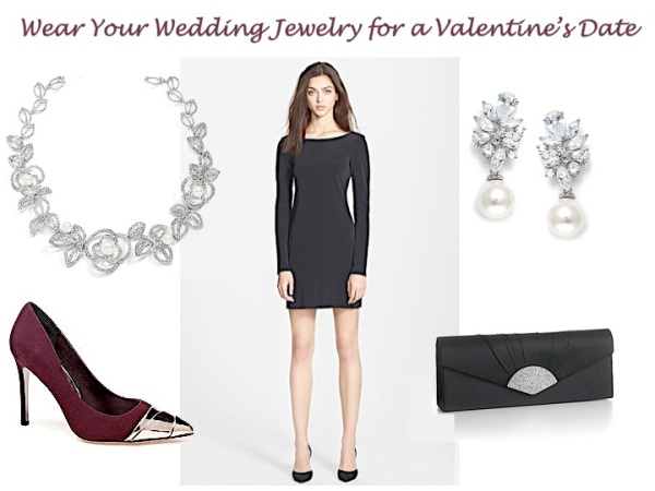 Wear Your Wedding Jewelry for a Valentine's Date