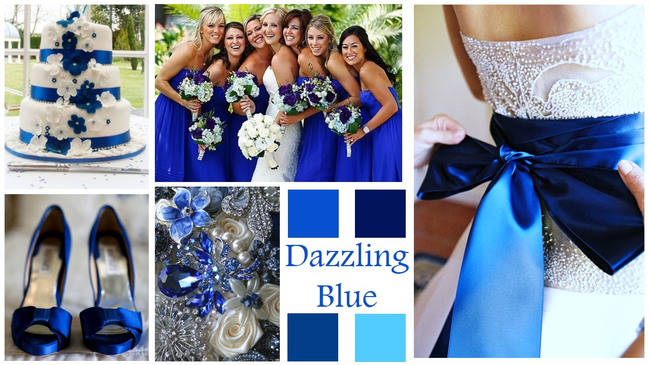 Bridesmaid Style: Dazzling Blue