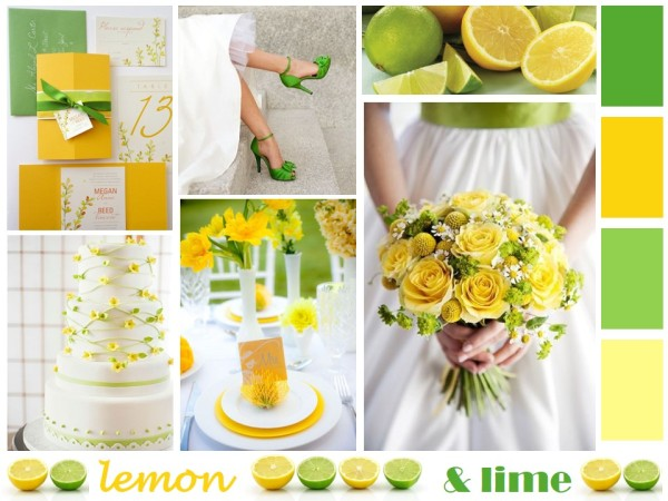 Lemon Yellow & Lime Green Wedding Inspiration