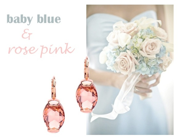 Matching Jewelry - blue and pink