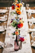 Our Favorite Boho Wedding Trends: A bright mix of colors