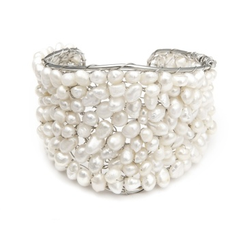 Freshwater Pearl Cuff Bracelet