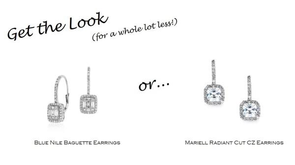 Get the Look: Blue Nile Diamond Earrings