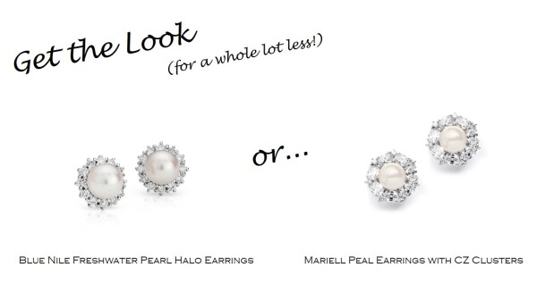 Get the Look: Blue Nile Pearl Earrings