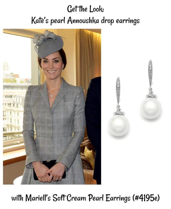 Get the Look: The Duchess of Cambridge's Pearl Earrings