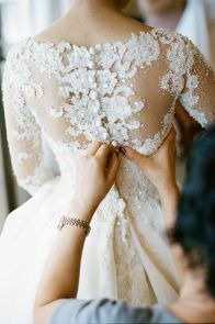 Winter Wedding - Lace Long Sleeves