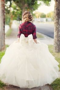 Winter Wedding - Plaid
